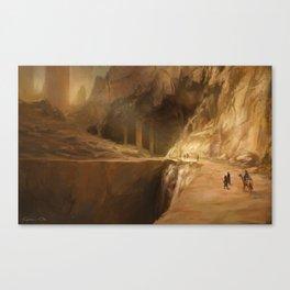 Delving Deeper Canvas Print