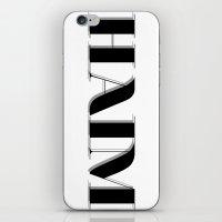 haim iPhone & iPod Skins featuring haim - shadowed by darknightdrive