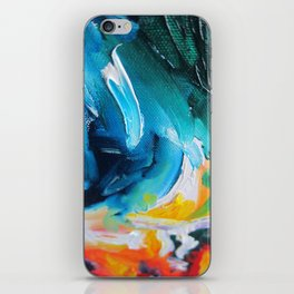 Oasis on Fire iPhone Skin