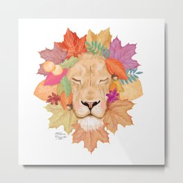 Autumn Leon Metal Print