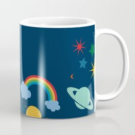 space teddy bear Coffee Mug