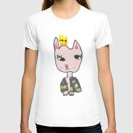 Cat Girl Kids Painting T-shirt