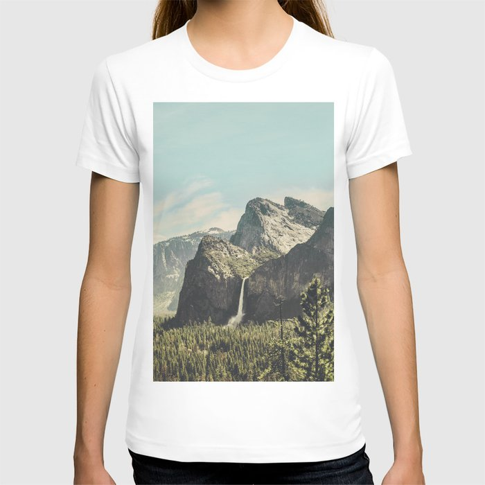 Yosemite Valley Waterfall T-shirt