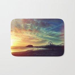 Santa Monica Sunset Bath Mat