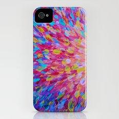 SPLASH, Revisited - Bold Beautiful Feminine Romance Ocean Beach Waves Magenta Plum Turquoise Crimson Slim Case iPhone (4, 4s)