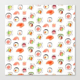 Sushi Lover Canvas Print