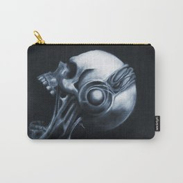 Skull & Headphones Carry-All Pouch