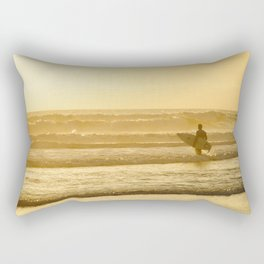 Calfornia Surfer Rectangular Pillow