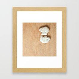 Animal Crackers - wood3 Framed Art Print