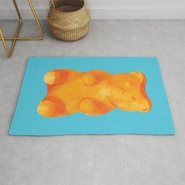 Gummy Bear Polygon Art Rug