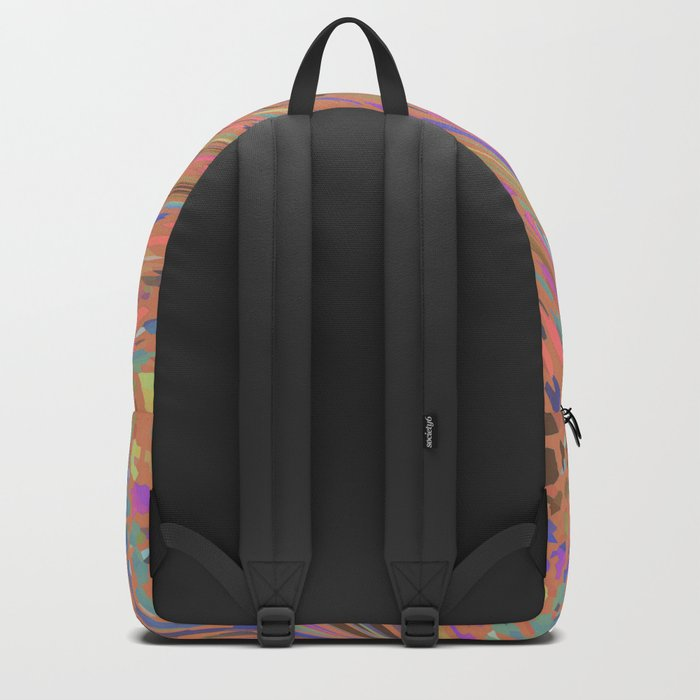 ORANGE SAFARI FLOW Backpack