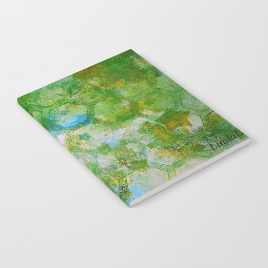 Hexy Green Notebook