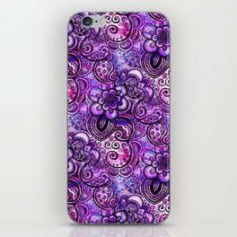 Purple Paisley Vision iPhone Skin