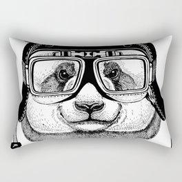 Panta Helmet and glasses Rectangular Pillow