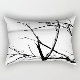 Lonely Branches Rectangular Pillow