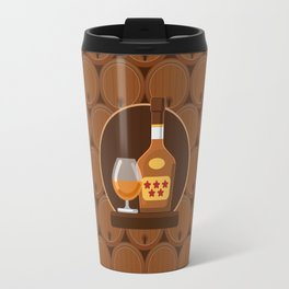 Cognac Travel Mug