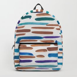 15 | 190304 Watercolour Painting Abstract Pattern Backpack