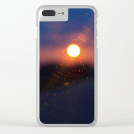 Sunrise.. Sunset.. Clear iPhone Case