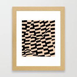 Export As Human Framed Art Print