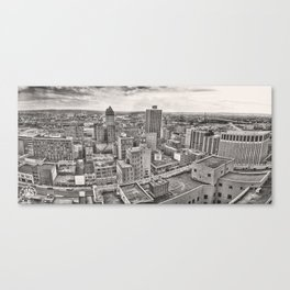 Dayton Panorama 1978 Canvas Print