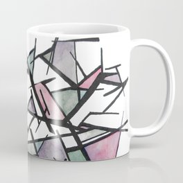 Abstract Triangles  Coffee Mug