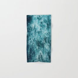 Blue Ocean Waves Hand & Bath Towel