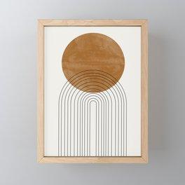 Arch III Framed Mini Art Print