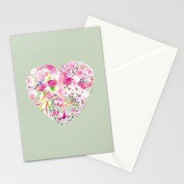 Blush Heart Stationery Cards