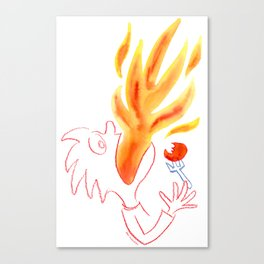 Hot Stuff! Canvas Print
