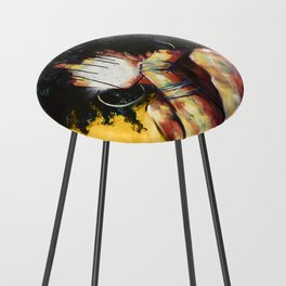 Naturally II GOLD Counter Stool