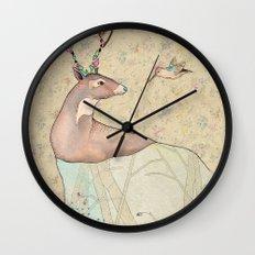 ...tener un bosque dentro. Wall Clock