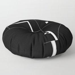 AutorreTracks - Inspired by Spirit Floor Pillow