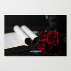 my love is like a red, red rose Canvas Print