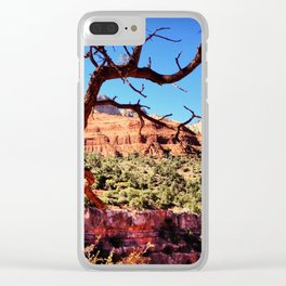 Beyond The Tree Clear iPhone Case