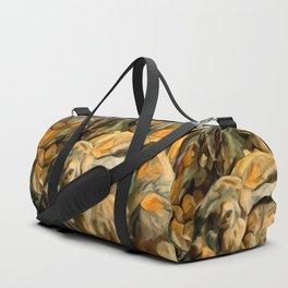 Splitting Hares Duffle Bag