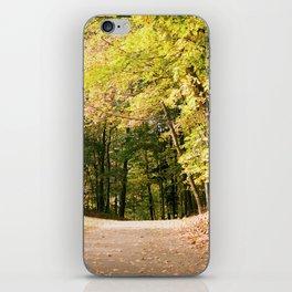 Autumn in Wisconsin iPhone Skin