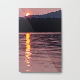 sun rolling down Metal Print