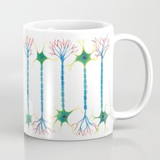 Neuron 5 in White Mug