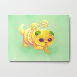 Sweeture: Sourpuss Metal Print