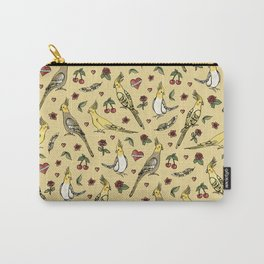Cockatiel Tattoo Love Carry-All Pouch
