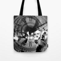 imagerybydianna Tote Bags featuring Logos by Art by Mel