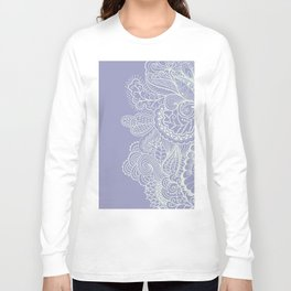Abstract Nature in Ultraviolet Long Sleeve T-shirt