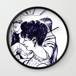 Lady in waiting.  Wall Clock