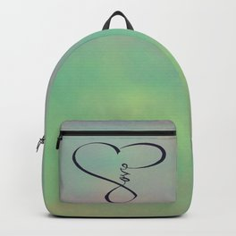 Love in my heart Backpack