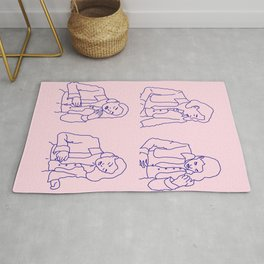 dance with death Rug