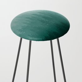Misty Pacific Northwest Forest Counter Stool