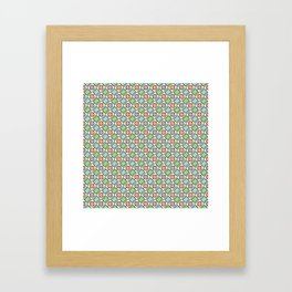 SHAPE UP, PASTELS Framed Art Print