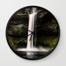 Silver Falls Wall Clock
