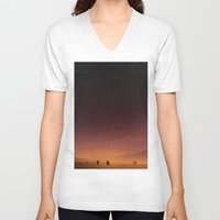 planet V-neck T-shirts featuring Planet Walk by Stoian Hitrov - Sto