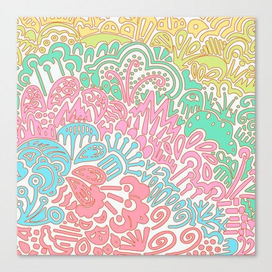 Tropic IV Canvas Print